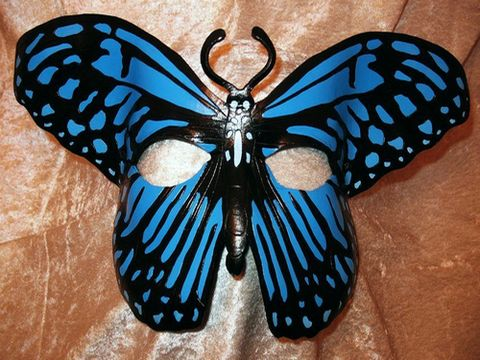 Blue Tiger Butterfly - $220
